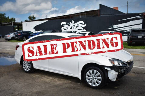 2017 Nissan Sentra for sale at ELITE MOTOR CARS OF MIAMI in Miami FL
