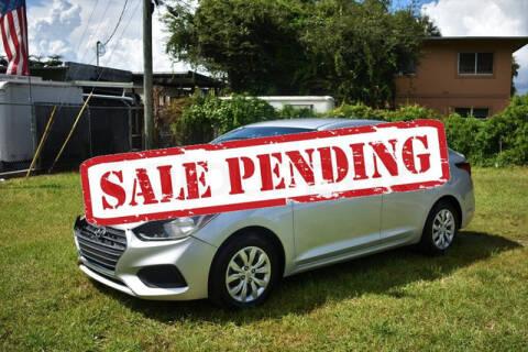 2018 Hyundai Accent for sale at ELITE MOTOR CARS OF MIAMI in Miami FL
