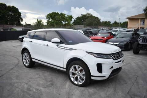 2020 Land Rover Range Rover Evoque for sale at ELITE MOTOR CARS OF MIAMI in Miami FL