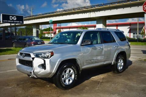 2018 Toyota 4Runner for sale at ELITE MOTOR CARS OF MIAMI in Miami FL