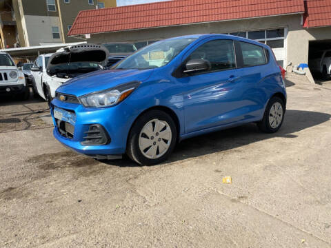 2017 Chevrolet Spark for sale at ELITE MOTOR CARS OF MIAMI in Miami FL
