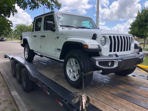 2021 Jeep Gladiator for sale at ELITE MOTOR CARS OF MIAMI in Miami FL
