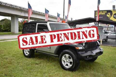 2020 Jeep Wrangler for sale at ELITE MOTOR CARS OF MIAMI in Miami FL