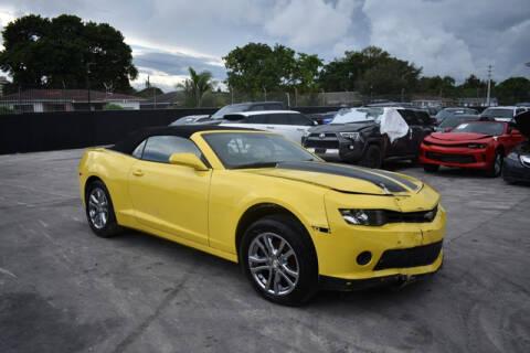 2015 Chevrolet Camaro for sale at ELITE MOTOR CARS OF MIAMI in Miami FL