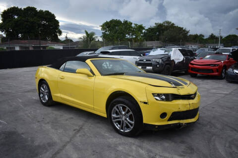 2015 Chevrolet Camaro for sale at ELITE MOTOR CARS OF MIAMI in Miami FL