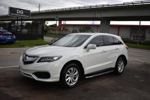 2018 Acura RDX for sale at ELITE MOTOR CARS OF MIAMI in Miami FL