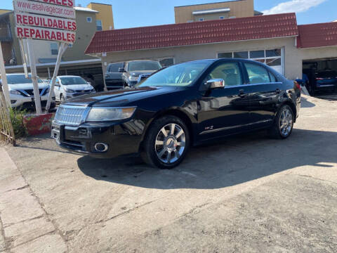 2008 Lincoln MKZ for sale at ELITE MOTOR CARS OF MIAMI in Miami FL