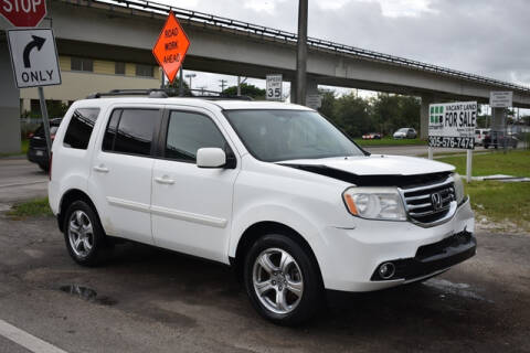 2013 Honda Pilot for sale at ELITE MOTOR CARS OF MIAMI in Miami FL