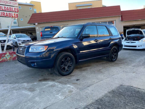 2006 Subaru Forester for sale at ELITE MOTOR CARS OF MIAMI in Miami FL