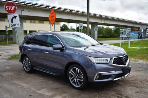 2018 Acura MDX for sale at ELITE MOTOR CARS OF MIAMI in Miami FL