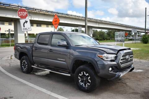 2017 Toyota Tacoma for sale at ELITE MOTOR CARS OF MIAMI in Miami FL