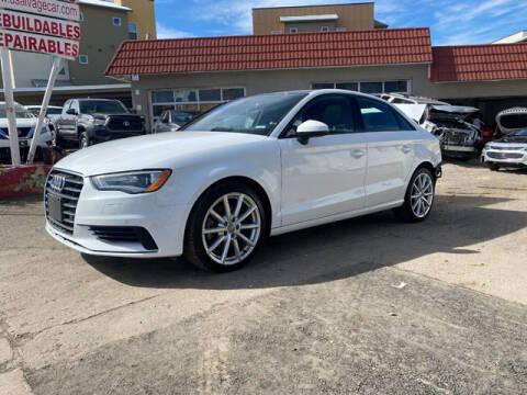 2016 Audi A3 for sale at ELITE MOTOR CARS OF MIAMI in Miami FL