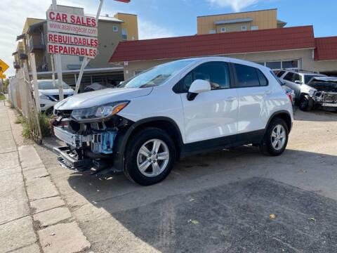 2020 Chevrolet Trax for sale at ELITE MOTOR CARS OF MIAMI in Miami FL