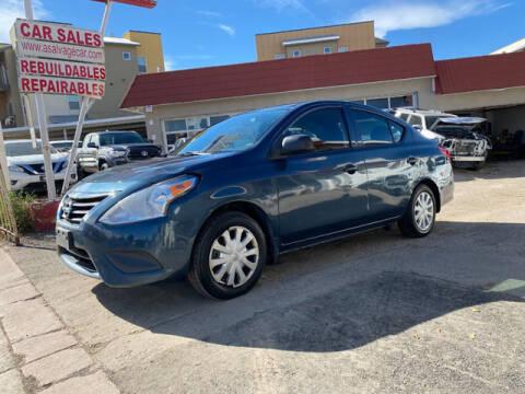 2015 Nissan Versa for sale at ELITE MOTOR CARS OF MIAMI in Miami FL