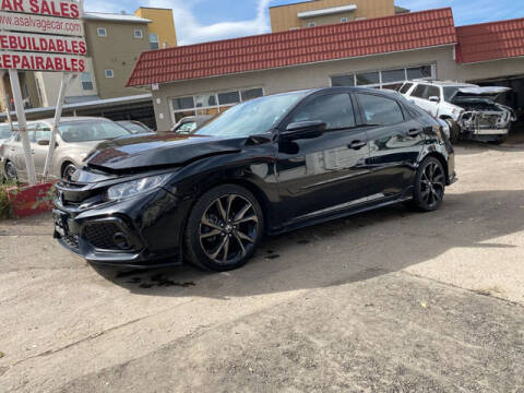 2017 Honda Civic for sale at ELITE MOTOR CARS OF MIAMI in Miami FL