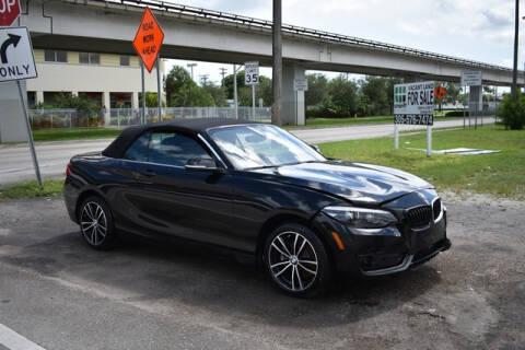 2020 BMW 2 Series for sale at ELITE MOTOR CARS OF MIAMI in Miami FL