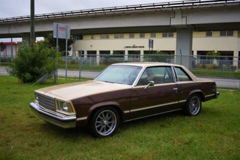 1979 Chevrolet Malibu for sale at ELITE MOTOR CARS OF MIAMI in Miami FL