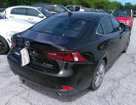 2016 Lexus IS 200t for sale at ELITE MOTOR CARS OF MIAMI in Miami FL