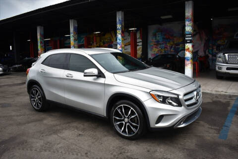 2016 Mercedes-Benz GLA for sale at ELITE MOTOR CARS OF MIAMI in Miami FL