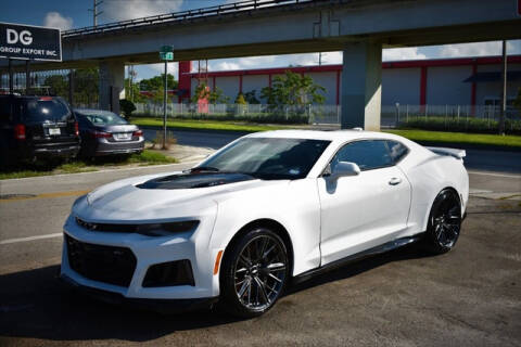 2017 Chevrolet Camaro for sale at ELITE MOTOR CARS OF MIAMI in Miami FL