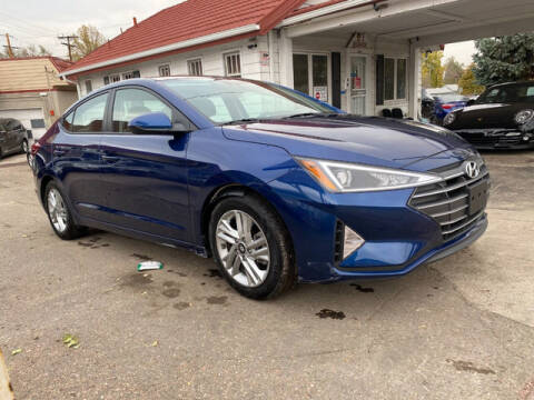2020 Hyundai Elantra for sale at ELITE MOTOR CARS OF MIAMI in Miami FL