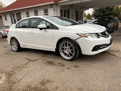 2015 Honda Civic for sale at ELITE MOTOR CARS OF MIAMI in Miami FL