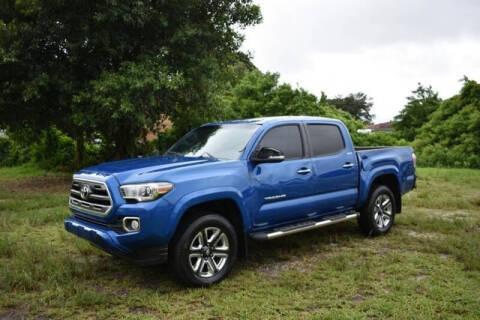 2016 Toyota Tacoma for sale at ELITE MOTOR CARS OF MIAMI in Miami FL