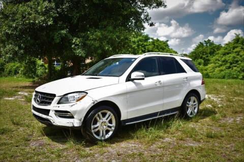 2014 Mercedes-Benz M-Class for sale at ELITE MOTOR CARS OF MIAMI in Miami FL