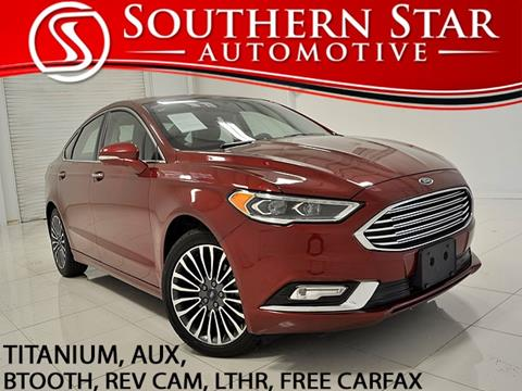 2017 Ford Fusion for sale in Duluth, GA