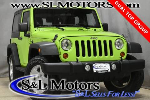 2013 Jeep Wrangler for sale in Pulaski, WI