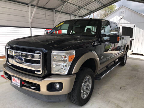 2012 Ford F-250 Super Duty for sale at Richmond Rocket Auto Sales in Mechanicsville VA