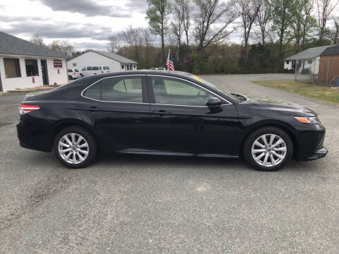 2018 Toyota Camry L for sale at Richmond Rocket Auto Sales in Mechanicsville VA