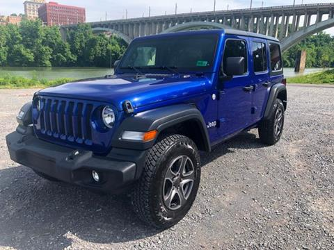2018 Jeep Wrangler Unlimited for sale in Fairmont, WV