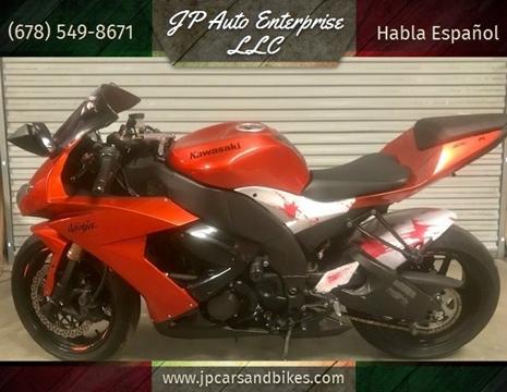 2009 Kawasaki NINJA ZX-10 R for sale at JP Auto Enterprise LLC in Duluth GA