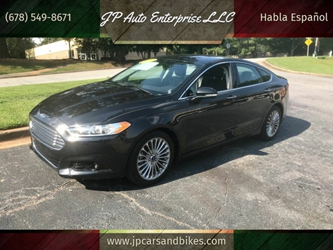 2013 Ford Fusion for sale at JP Auto Enterprise LLC in Duluth GA