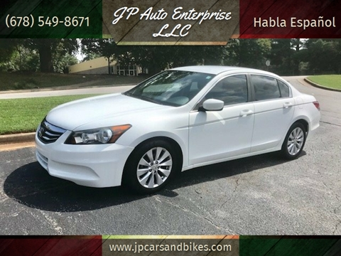 2012 Honda Accord for sale at JP Auto Enterprise LLC in Duluth GA
