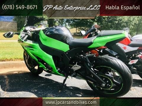 2011 Kawasaki Ninja ZX-10R for sale in Duluth, GA