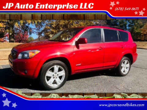 2007 Toyota RAV4 for sale at JP Auto Enterprise LLC in Duluth GA