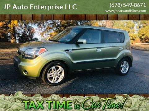 2010 Kia Soul for sale at JP Auto Enterprise LLC in Duluth GA
