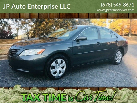 2009 Toyota Camry for sale at JP Auto Enterprise LLC in Duluth GA