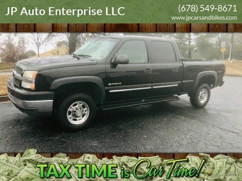 2004 Chevrolet Silverado 2500HD for sale at JP Auto Enterprise LLC in Duluth GA
