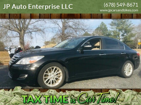 2011 Hyundai Genesis for sale at JP Auto Enterprise LLC in Duluth GA