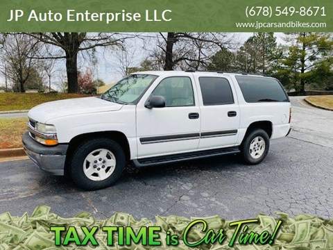 2004 Chevrolet Suburban for sale at JP Auto Enterprise LLC in Duluth GA