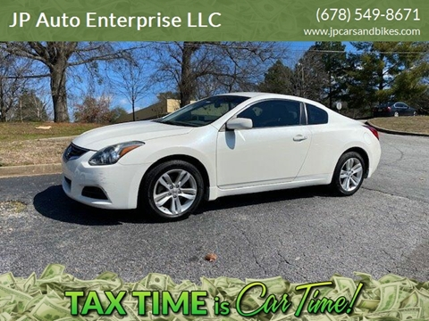 2012 Nissan Altima for sale at JP Auto Enterprise LLC in Duluth GA