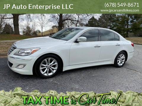 2013 Hyundai Genesis for sale at JP Auto Enterprise LLC in Duluth GA