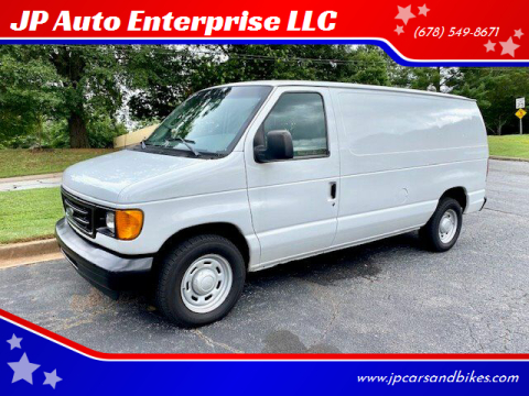 2006 Ford E-Series Cargo for sale at JP Auto Enterprise LLC in Duluth GA