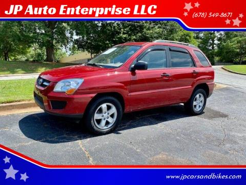 2009 Kia Sportage for sale at JP Auto Enterprise LLC in Duluth GA