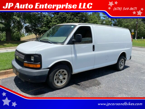 2009 Chevrolet Express Cargo for sale at JP Auto Enterprise LLC in Duluth GA