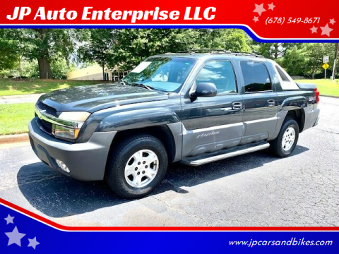 2003 Chevrolet Avalanche for sale at JP Auto Enterprise LLC in Duluth GA