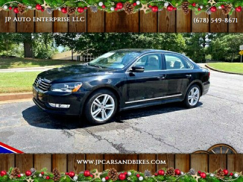 2013 Volkswagen Passat for sale at JP Auto Enterprise LLC in Duluth GA